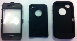 iPhone 4/4s protective cover